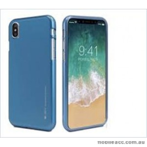 Korean Mercury  I-Jelly Case For Samsung  Galaxy  S10  Plus Blue