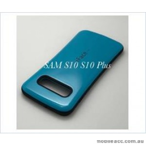 Iface mall  Anti-Shock Case  For Samsung  Galaxy  S10E Sea Blue