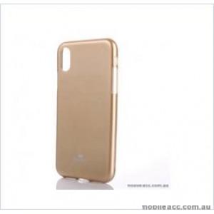Korean Mercury  I-Jelly Case For Samsung  Galaxy  S10E Gold