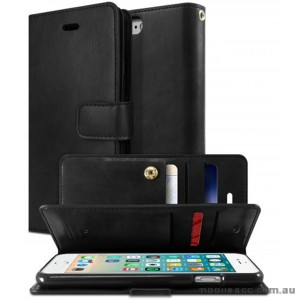 Korean Mercury Goospery Mansoor Wallet Case Cover iPhone 7/8 4.7 Inch - Black