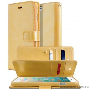 Korean Mercury Goospery Mansoor Wallet Case Cover iPhone 7/8 4.7 Inch - Gold