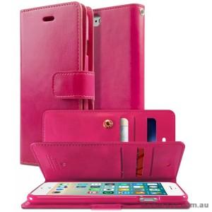Korean Mercury Goospery Mansoor Wallet Case Cover iPhone 7/8 4.7 Inch - Hot Pink