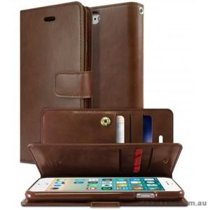 Korean Mercury Goospery Mansoor Wallet Case Cover iPhone 7/8 4.7 Inch - Brown