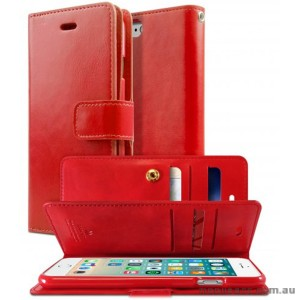 Korean Mercury Goospery Mansoor Wallet Case Cover iPhone 7/8 4.7 Inch - Red