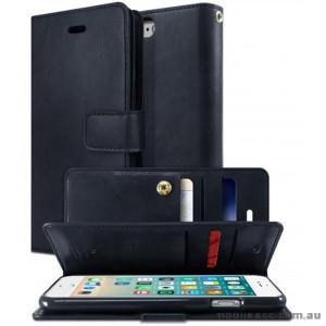 Korean Mercury Goospery Mansoor Wallet Case Cover iPhone 7/8 4.7 Inch - Navy