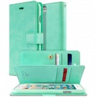 Korean Mercury Goospery Mansoor Wallet Case Cover iPhone 7/8 4.7 Inch - Mint Green