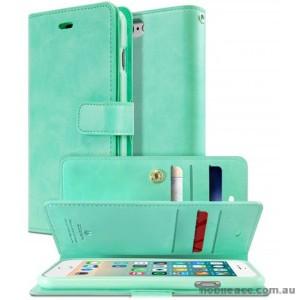 Korean Mercury Goospery Mansoor Wallet Case Cover iPhone 7 - Mint Green
