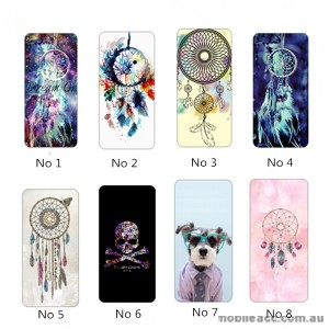 TPU Jelly Case Cover With Painted For iPhone 7 Plus