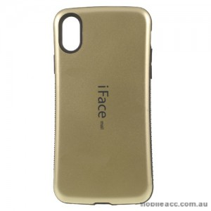 iFace Anti-Shock Case For iPhone X - Gold