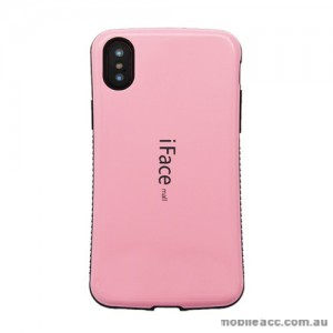iFace Anti-Shock Case For iPhone X - Light Pink