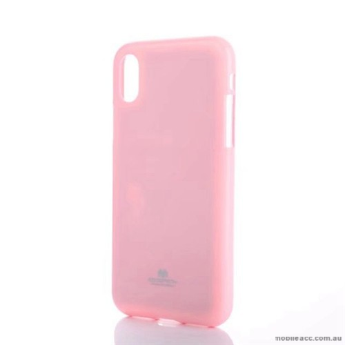 promo code 71716 48b6d Mercury Pearl TPU Jelly Case For iPhone X - Light Pink