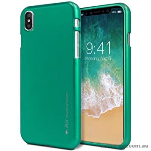 "Korean Mercury  I-Jelly Case For Iphone XR 6.1""  Green"