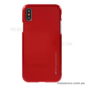 """Korean Mercury  I-Jelly Case For Iphone XR 6.1""""  Red"""