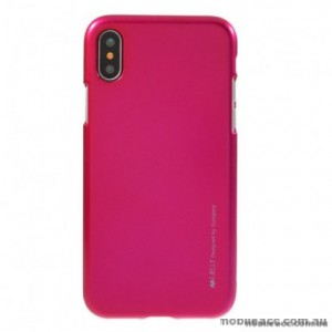 "Korean Mercury  I-Jelly Case For Iphone XR 6.1""  Hotpink"