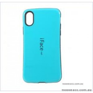 "Iface mall  Anti-Shock Case  For For Iphone XR 6.1""  Sea Blue"