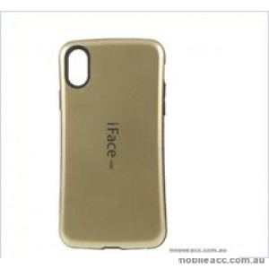 "Iface mall  Anti-Shock Case  For For Iphone XR 6.1""  Gold"