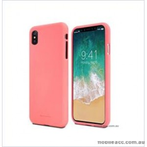 Korean Mercury Soft feeling  Jelly Case For Iphone  XR  6.1'' Pink