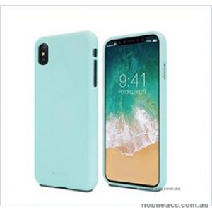 Korean Mercury Soft feeling  Jelly Case For Iphone  XR  6.1'' Mint Green