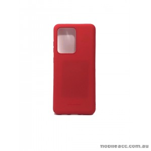 Hana Soft Feeling Jelly Case For Samsung S20 Plus 6.7 inch  Red