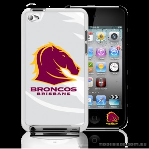 NRL Licensed Brisbane Broncos Watermark Back Case for iPod Touch 4
