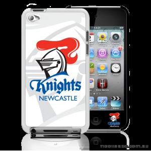 NRL Licensed  Newcastle Knights Watermark Back Case for iPod Touch 4