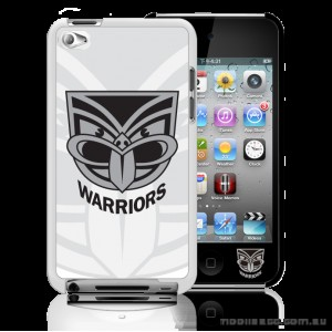 NRL Licensed New Zealand Warriors Watermark Back Case for iPod Touch 4