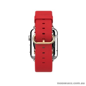 HOCO ART SERIES CLASSIC REAL LEATHER WATCHBAND FOR APPLE WATCH - RED
