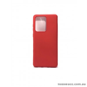 Hana Soft Feeling Jelly Case For Samsung S20 Ultra  6.9 inch  Red