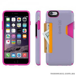 Original Speck CandyShell Card Case for iPhone 6/6S Plus - Light Purple/HP
