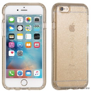 ORIGINAL Speck Presidio Clear Glitter Case for iPhone 6/6s Clear with Gold Glitter