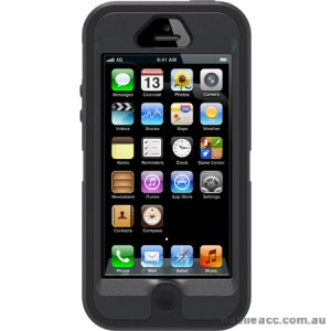 Genuine OtterBox Defender Case for iPhone 5/5S/SE - Black