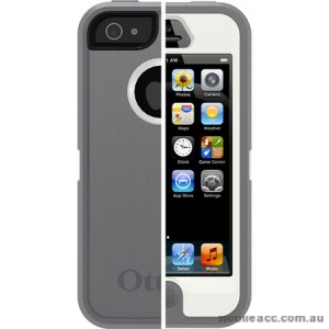 Genuine OtterBox Commuter Case for iPhone 5/5S/SE - Grey