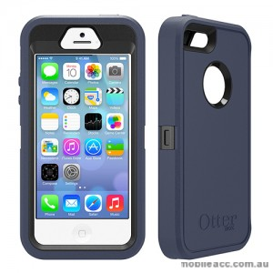 Genuine Otterbox Deferder Series for iPhone 5/5S/SE - Navy Blue
