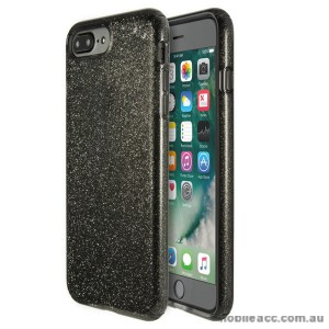 ORIGINAL Speck Presidio Clear Glitter Case for iPhone 7 Plus Clear with Dark Grey Glitter