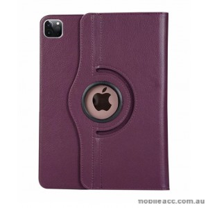 360 Degree Rotating Case for Apple iPad Pro 12.9 inch 2020  Purple