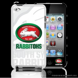 NRL Licensed South Sydney Rabbitohs Watermark Back Case for iPod Touch 4