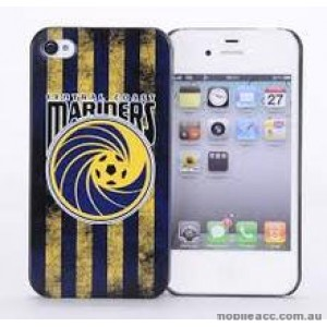 Licensed A-League Central Coast Mariners Grunge Back Case for iPhone 4/4S