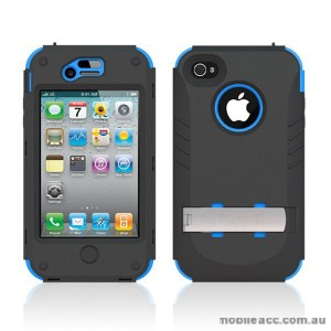 Trident Kraken Tough Heavy Duty Case for iPhone 4 / 4S - Blue
