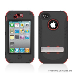 Trident Kraken Tough Heavy Duty Case for iPhone 4 / 4S - Red