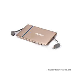 Blueeye 3000mAh PowerBank Gold