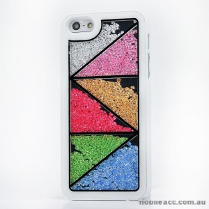 Bling Crystal Diamond Case Cover for iPhone 5/5S/SE - Triangle
