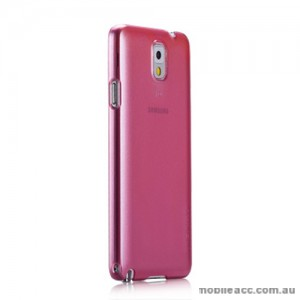 Momax Ultra Thin Pearl Case for Samsung Galaxy Note 3 - Pink