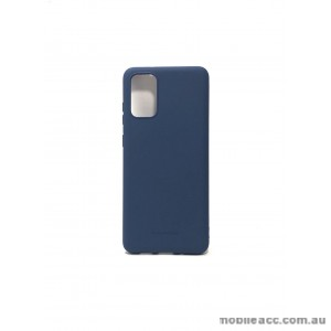 Hana Soft Feeling Jelly Case For Samsung S20 Plus 6.7 inch  Blue