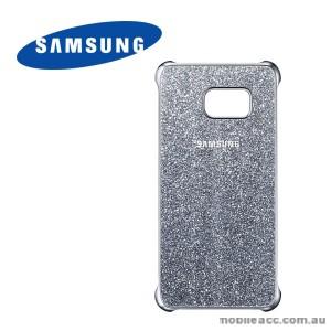 Original Samsung Galaxy S6 edge plus  Glitter Cover Silver