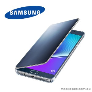 Original Samsung Galaxy Note 5  Clear View Cover Black