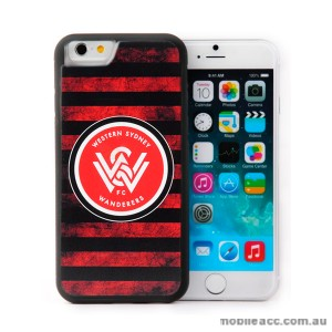 Licensed A-League Wester Sydney Wanderers for iPhone 6/6S - Grunge Jersey