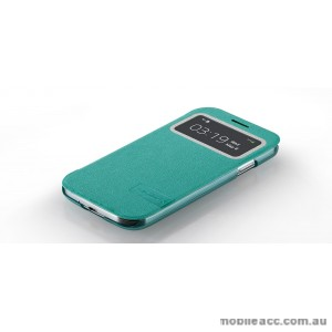 Momax Flip View Case for Samsung Galaxy S4 (i9500) Light blue