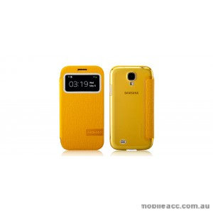 Momax Flip View Case for Samsung Galaxy S4 (i9500) Yellow