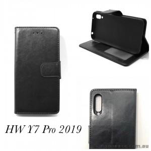 Wallet Pouch Huawei Y7 pro 2019  BLK