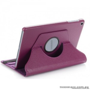 360 Degree Rotating Case for Apple iPad 10.2 inch 2019  Purple